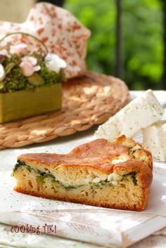 Green cheese pie - cOOking TiKi