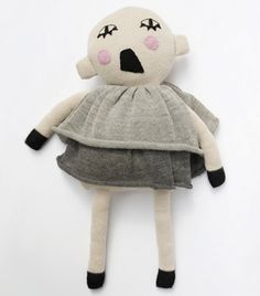 Břichopas about toys: Lucky boy Sunday Plush Dolls, Doll Toys, Baby Dolls, Children's Toys, Little People, Little Ones, Knit Art, Softies, Plushies
