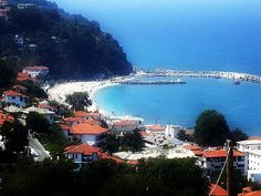agios ioannis, pelion, greece view