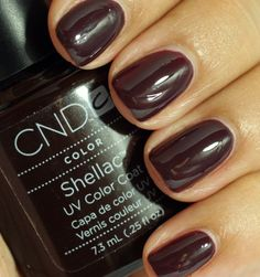CND fedora One of our most popular colors for fall at the salon. Went through several bottles last fall/winter