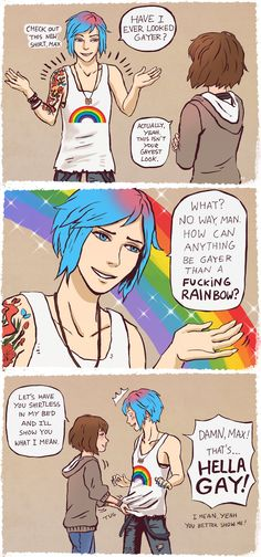 Hella GAY! Pricefield Life Is Strange Chloe Price, Max