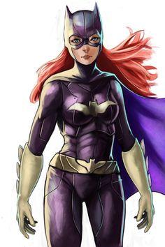 Batgirl by *raknight on deviantART http://raknight.deviantart.com/