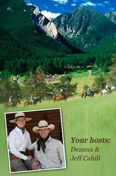 Deanna and Jeff Cahill - your hosts at 63 Ranch