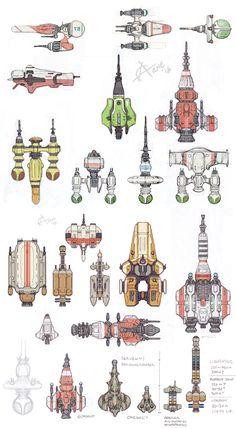 Blake's 7 Spaceship design