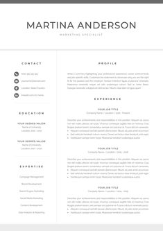 Google Templates Resume New Google Docs Resume  Google Docs Resume Template  Google Docs .