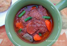 Gourmet Girl Cooks: Beef Paprikash Stew - Slow Cooker Style - I would make with mushrooms and cabbage. (tag: paprika)
