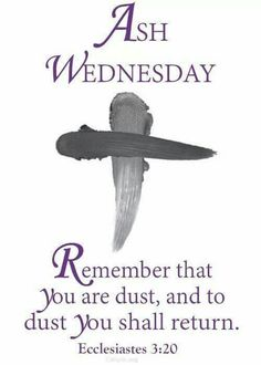 Ash Wednesday marks the beginning of #Lent! What sacrifice have you prepared to make for the next 40 days?
