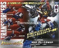 LG-EX Greatshot Package Images Of Exclusive Titans Return Sixshot Retool