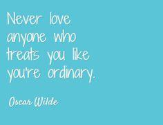 Never Love Anyone…