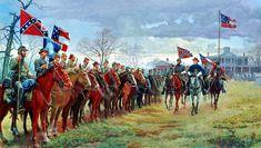 mort kunstler civil war paintings | Review at Moss Neck