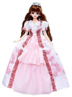 CUTE!!❤Takaratomy❤Licca Doll Jenny❤Jenny Rose garden princess❤JAPAN 41017 1115