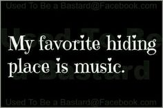 My favorite hiding place is actually Jesus, but He gives me amazing music in my time with Him.