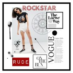 """""""Rude"""" by lissavasquez16 ❤ liked on Polyvore featuring ASOS and Loewe"""