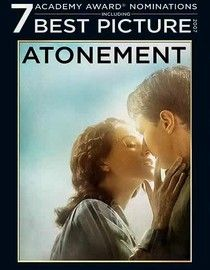 Atonement (2007) When 13-year-old Briony discovers a lustful letter and witnesses a sexual encounter between her older sister and a servant's son, her confusion prompts her to finger the young man for a violent crime. Her half-truth changes their lives forever. Cast:Keira Knightley, James McAvoy ...16a