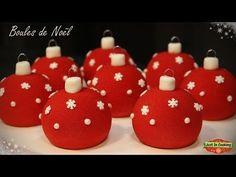 ❅ Recette de Boules de Noël Chocolat Framboise ❅ - YouTube
