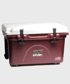 Maroon Orca cooler! Perfect for Aggie tailgates! #AggieGifts