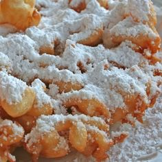 This gluten free funnel cake will make your mouth water and uses high quality ingredients for those out there doing their best to avoid gluten in their diets.. Gluten Free Funnel Cake Recipe from Grandmothers Kitchen.