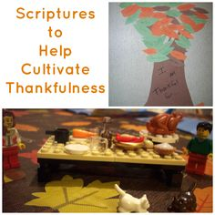 Scriptures to help cultivate thankfulness- we need to cultivate some more thankfulness