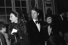 Marisa Berenson, Halston and Liza Minnelli at the festivities. Famous Runway Showdown Revisited in 'Versailles '73'