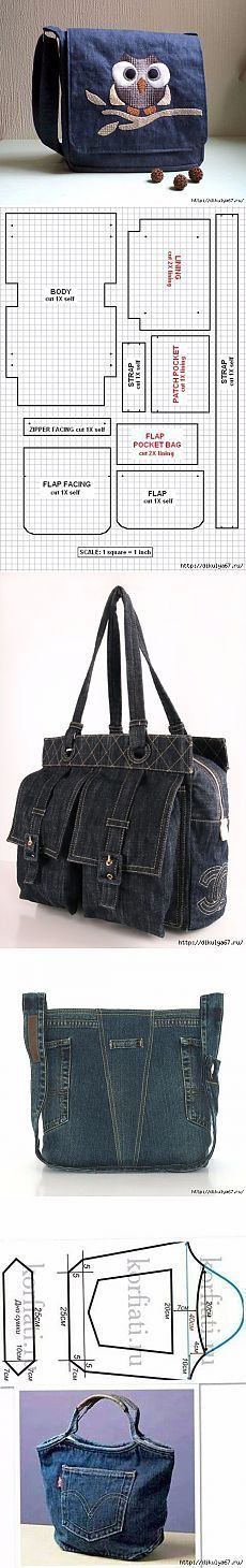 Alteraciones: Denim Bag - Crafts