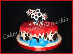 TORTA DECORADA ANIMAL PRINT DALMATA   TORTAS CAKES BY MONICA FRACCHIA