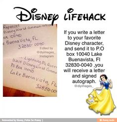 disney life hack- I've tried this twice already, but third time's a charm.