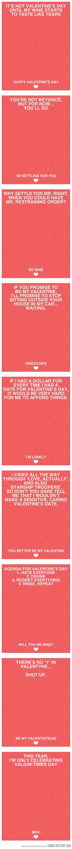 Finally, Valentine's Day cards I can use… I NEED THESE!!!