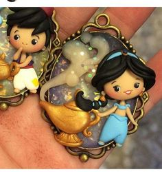 Porcelain Tiles In China Polymer Clay Disney, Polymer Clay Figures, Polymer Clay Dolls, Polymer Clay Pendant, Polymer Clay Charms, Polymer Clay Projects, Clay Crafts, Polymer Clay Jewelry, Art Crafts