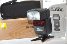 Nikon SB-600 SB 600 Speedlight D i-TTL digital Flash for D3400 D5300 D7200 D610