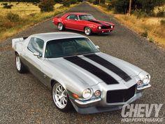 1969 and 1970 Camaros