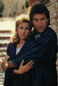 Roman (aka John Black) and Diana, Days of our Lives