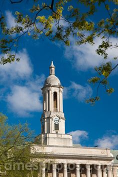 PENN STATE – CAMPUS – Penn State Old Main
