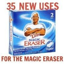 35 new uses for the Magic Eraser-- LOVE THESE THINGS