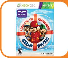 Alvin and The Chipmunks: CHIP Wrecked  game for Kinect