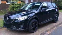 Mazda CX-5 mit 19 Zoll Alufelgen  - DBV Mauritius full black