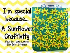I Am Special! - Spring Bulletin Board Idea