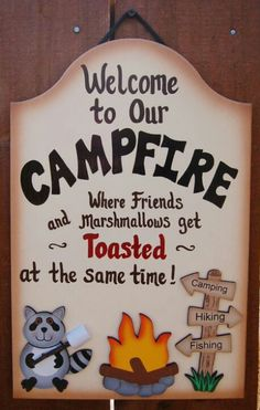 Camp Sign ..... Love it