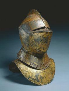Close Helmet (from a funerary achievement?), c.1590-1625 Holland Cleveland Museum