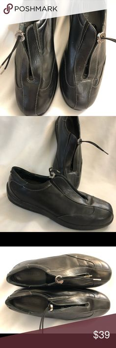 Superior Bjorndal Women's Size 6.5 Black Leather Work Clogs Shoes Guc Quality In