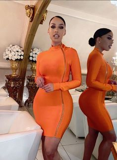 Discovered by Harriët Taylor. Find images and videos on We Heart It - the app to get lost in what you love. Looks Style, My Style, Neon Style, Modelos Fashion, Dress Up, Bodycon Dress, Beautiful Black Women, Fashion Killa, Fashion Beauty