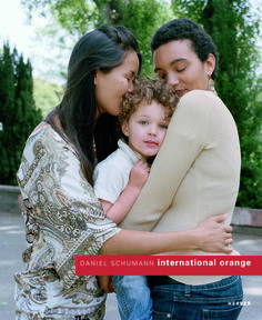 """Love Makes A Family."" Nynke (34), Hong Kong & Aidan (3), CA & Heaven (31), IL / El Cerrito, May 2012 #InternationalOrange"