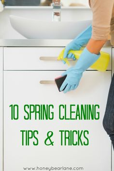 Spring Cleaning Tips - amazing!