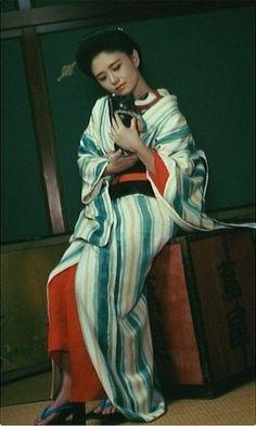 Hirota Leona 広田玲央名 in Yumeji 夢二 - Director : Suzuki Seijun 鈴木清順 - 1991