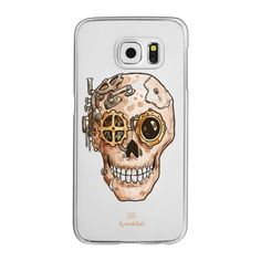 Steampunk Skull Phone Case - iPhone 6s Case,iPhone 6 Case,iPhone 6s... (525.940 IDR) ❤ liked on Polyvore featuring accessories, tech accessories and android case