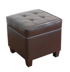 Kinfine Square Tufted Storage ottoman And Tufted Surface #Kinfine