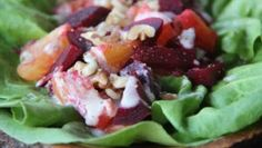 Summer Citrus-Beet Salad with Tahini Dressing, ready in just 10 minutes. http://www.onemedical.com/blog/eat-well/citrus-beet-salad/