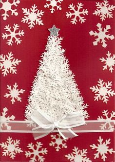 Cards Cakes and Paper Crafts from the North: Martha Stewart branch punch Tree