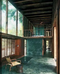 Palmyra House by Studio Mumbai, 2007. / #studiomumbai #indianarchitecture #somewhereidliketolive