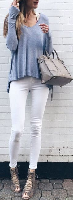 street style in pastel shades