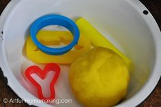 Artful Homemaking: Yellow Ball {Before Five in a Row}